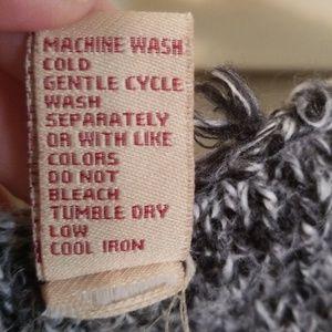 BKE Sweaters - BKE zip front cardigan. Gray and tan. EUC. Medium